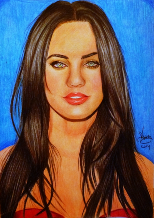 Megan Fox by yamilaalmara